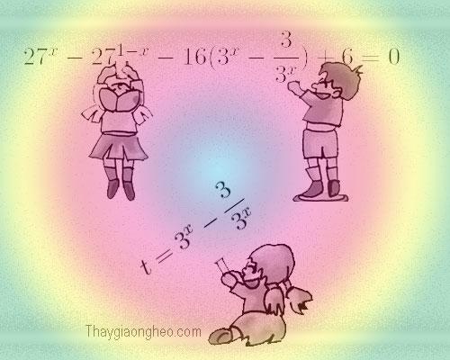 Giải phương trình mũ bằng phương pháp đặt ẩn phụ, http://hoctoan24h.net