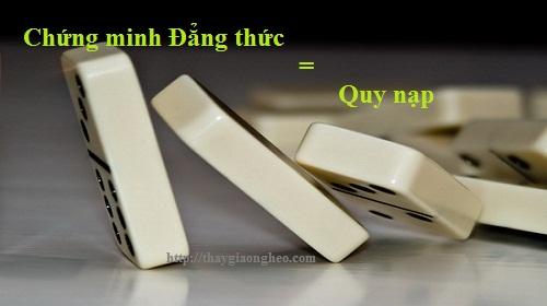 chung minh dang thuc bang quy nap
