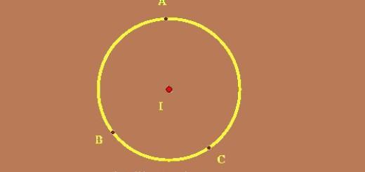 Phương trình đường tròn đi qua 3 điểm