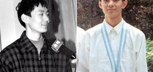 An Kim Bằng (ảnh phải) - Huy chương vàng Olympic Toán quốc tế (IMO) tại Argentina năm 97.