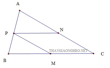 bieu dien mot vecto theo hai vecto khong cung phuong - 1